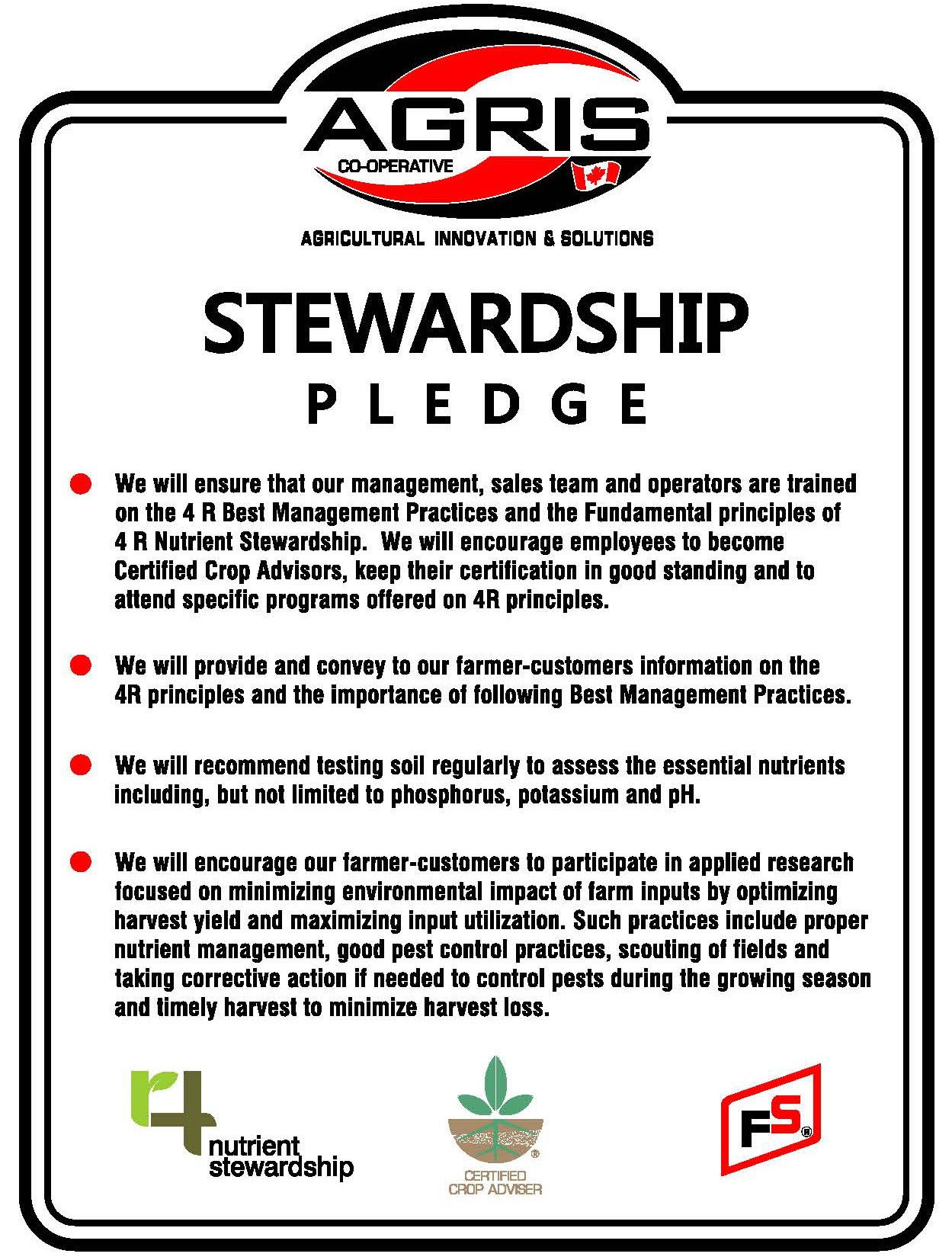 agrisstewardship pledge